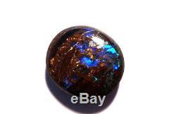 Pierre De Taille Naturelle Opale Boulder Australienne Naturelle, Vert, Bleu, 5 Ct (2343)