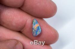Rare Lâche Opale Noire Bijou Lightning Ridge Solide 1,23ct Opale Australienne Bb171018