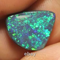Ridge Australian Black Opal Lightning, Solid Stone 2.74 Cts