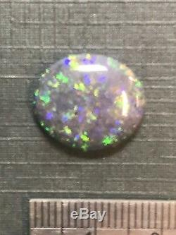 Solide Australien 6 Carat Opale Bleu À Broche, Ambre, Vert (lot 14a)