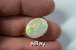 Solide Lumière Naturelle Australienne Opal 7.43ct Joyau Lightning Ridge Loa060119