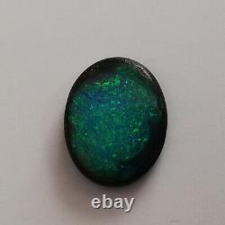 Stunning Très Bright 4.90ct Solide Australien Queensland Boulder Opal