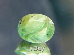 Superbe 9.31ct Solide Avec Unique Green Facettes Tanzanie Opal Avec Chatoyance
