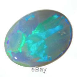 Superbe Creusetre Optique Semelle Noir Semi-noir Semi-noir Vert-bleu-aqua 5.26ct