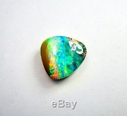Superbe Naturel 18,47 Ct. 18x17 MM Queensland Solide Boulder Opal