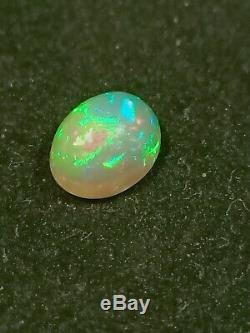 Superbe Solide Opale Vert Rouge Turquoise Gemstone Blue Hand Cut Naturel