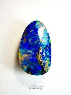 Très Grand Et Beau Massif Naturel 16,34 Ct. Queensland Boulder Opal