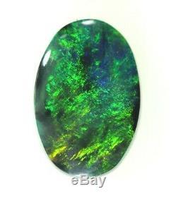 Très Vert Clair 1.63ct Solide Lightning Ridge Opal! (3087)