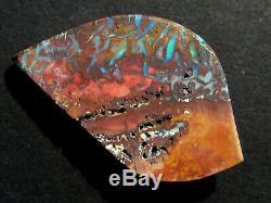 Véritable Pierre De Taille Massive Opale Australienne Du Queensland Boulder, Taille 40,4 Ct (1940)