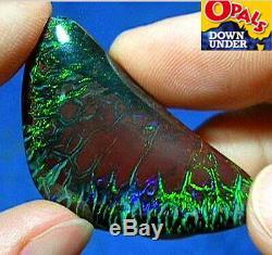 Vidéo D'opale Boulder De Noix Australiennes Solides Naturelles Australiennes Étonnantes De 45 Ct